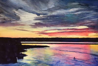 Joy Makon, 'Sunrise From New Brunswick', 2018