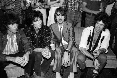 Allan Tannenbaum, 'The Rolling Stones visit Danceteria in New York City', 1980