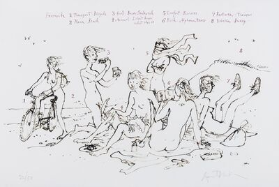 Quentin Blake, 'What are you like'