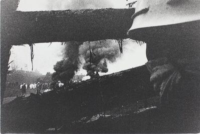 Kazuo Kitai, 'Forcible Eviction, Narita, Chiba (Sanrizuka series)', 1971