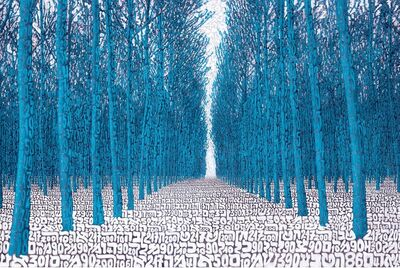 Tobia Rava, 'Foresta Alchemica Azzurra', 2013