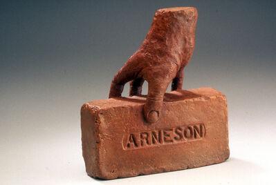 Robert Arneson, 'Hand Brick', 1991