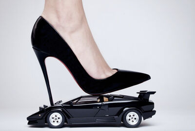 Tyler Shields, 'Lambo High heel', 2019