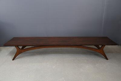 Vladimir Kagan, 'Vladimir Kagan bench from 1960 in restored mahogany', ca. 1960