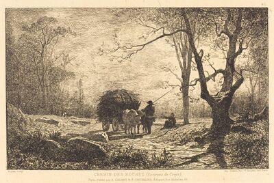 Adolphe Appian, 'Chemin des Roches'