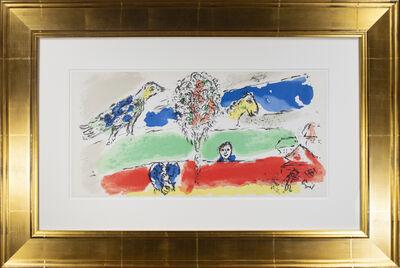 Marc Chagall, 'Le Fleuve Vert (The Green River), M 728', 1974