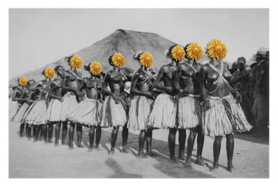 Owanto, 'Flowers IV', 2015