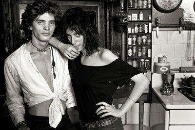 "Norman Seeff, 'Robert Mapplethorpe & Patti Smith, New York, (""Robert and Patti II"")', 1969"