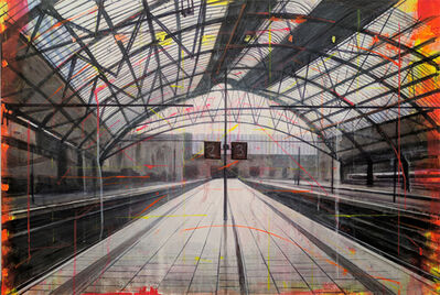 Peter Waite, 'Lime Street Station/Liverpool', 2015
