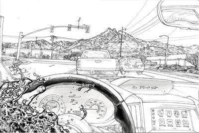 Jiyoun LEE-LODGE, 'Waterman-Driving', 2019