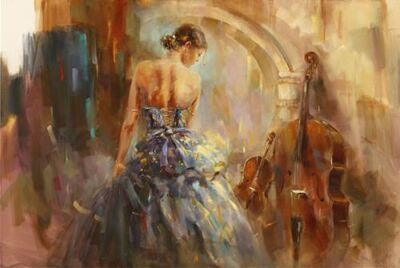 Anna Razumovskaya, 'Concerto III, Artist Proof', ca. 2017