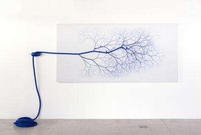 Janaina Mello Landini, 'Ciclotrama 119  (vento) ', 2018
