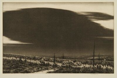 Kerr Eby, 'September 13 1918, St.Mihiel (The Great Black Cloud)', 1934