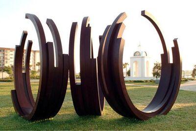 Bernar Venet, 'ARCS IN DISORDER: 3 ARC X 5', 2002-2003
