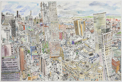 Olive Ayhens, 'Lower Manhattan West', 2011