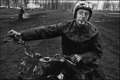 Danny Lyon, 'Racer, Shererville, Indiana, The Bikeriders Portfolio', 1966