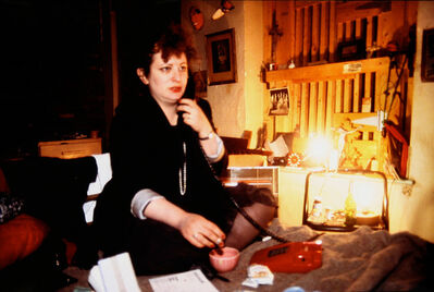 Nan Goldin, 'Nan at her bottom…, The Bowery, NYC', 1988
