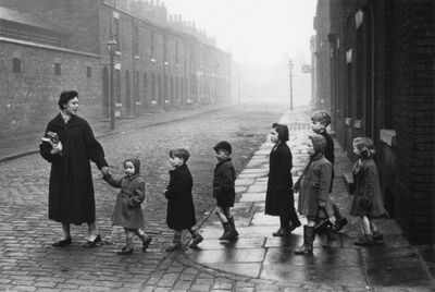 Bert Hardy, 'Teachers in Revolt, 1956', 1956