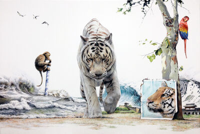 Kim Nam Pyo, 'Instant Landscape - traveler #29', 2014