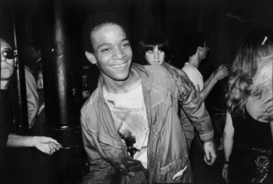 Nicholas Taylor, 'BASQUIAT Dancing at The Mudd Club, 1979 (Boom For Real)', printed later