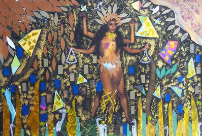 Nelson Morales, 'Diosa de cuatro brazos', 2020