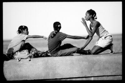 Henry Horenstein, 'Chatting, El Malecon, Cuba', 2000