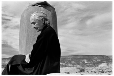 John Loengard, 'GEORGIA O'KEEFFE, GHOST RANCH, NEW MEXICO.', 1967