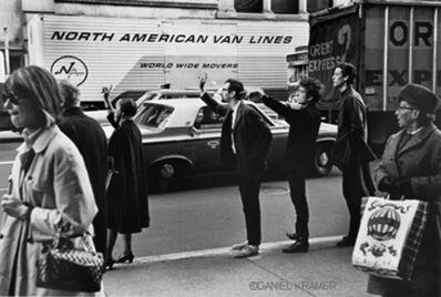 Daniel Kramer, 'Dylan with Peter Yarrow and John Hammond Jr., New York', 1965
