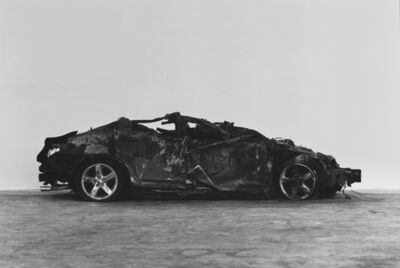 Richard Learoyd, 'Crashed and burned', 2017