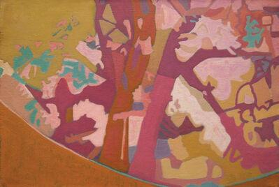 Ralph Wickiser, 'Red Apple Tree', 1990