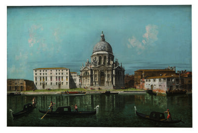 Michele Marieschi, 'Santa Maria della Salute, Venice, View from the Grand Canal', 1739-1740