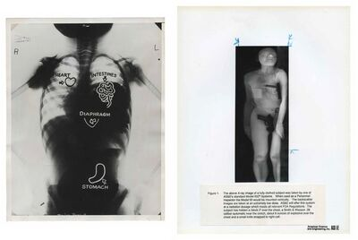 Murray Moss, 'TQ 55/56: XRay Picture/Security Scan', 1935/1991