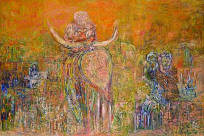 Ali Lagrouni, 'Hinde', 1991