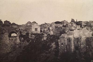 Maxime Du Camp, 'Palestine: Jeruselum, Quartiere Orientale', Neg. date: 1851 c. / Print date: 1851 c.
