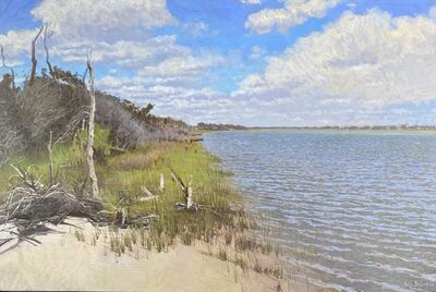 Luke Allsbrook, 'Sea Oaks on the Sound ', 2020