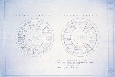 Mark Bennett, 'The Jupiter II Home of: Prof. John Robinson & Family Major Don West Dr. Zachary Smith The Galexy', 1995