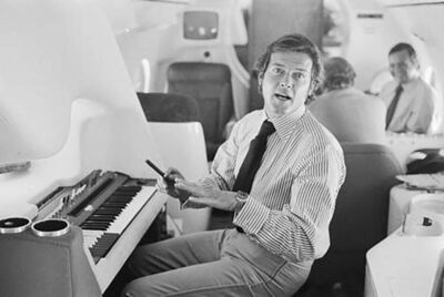 Terry O'Neill, 'Roger Moore Electric Piano'
