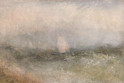 J. M. W. Turner, 'Off the Nore', 1840-1845