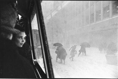Erich Hartmann, 'Snow in New York', 1967