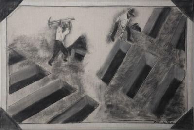 Beatriz González, 'Paisajes elementales: tierra en Barranca', 2018