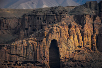 William Frej, 'Buddha of Bamiyan after the Taliban, Bamiyan, Afghanistan', 2010