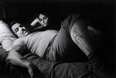 Susan Meiselas, 'Larry and his girl, Fryeburg, ME', 1975
