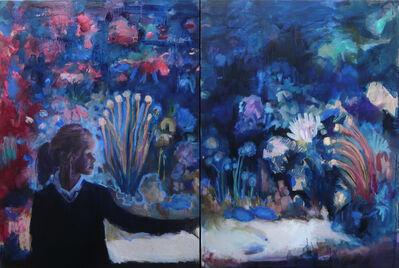 Sandrine Rondard, 'Diptyque aquarium rouge', 2018