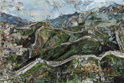 Vik Muniz, 'The Great Wall of China', 2014