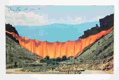 Christo and Jeanne-Claude, 'Valley Curtain, Rifle, Colorado', 1972