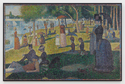 Bradley Hart, 'A Sunday on La Grande Jatte Interpreted (Injection)', 2019