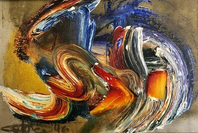 Ismail Gulgee, 'abstract composition ', 1996