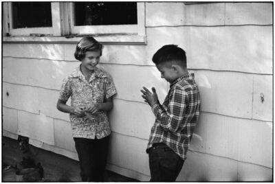 Elliott Erwitt, 'Wyoming, USA', 1954