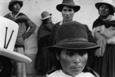 Sergio Larrain, 'Young Chola, Independencia. ', 1958