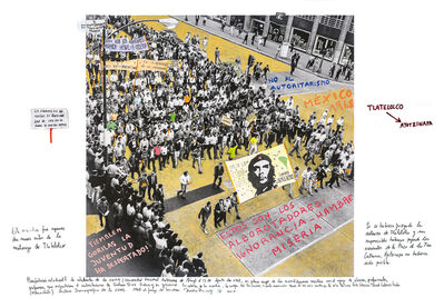 Marcelo Brodsky, 'From the series 1968: The fire of Ideas, México, 1968', 2014-2019